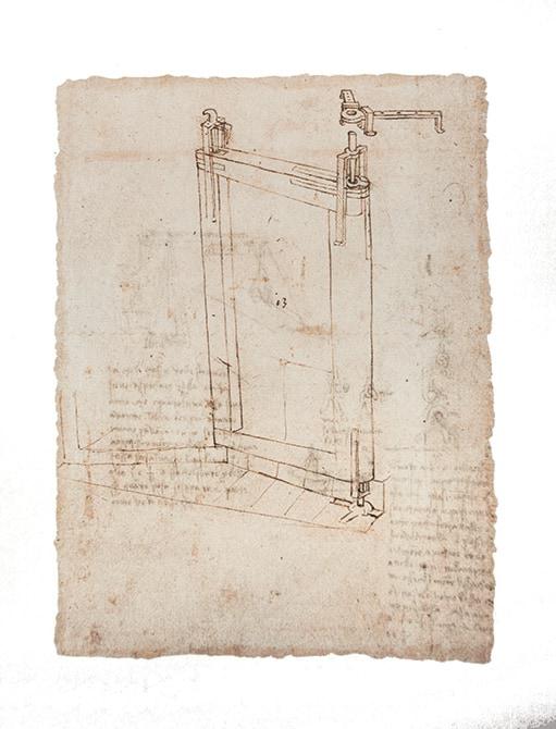 Mapei e Leonardo da Vinci_disegno canale