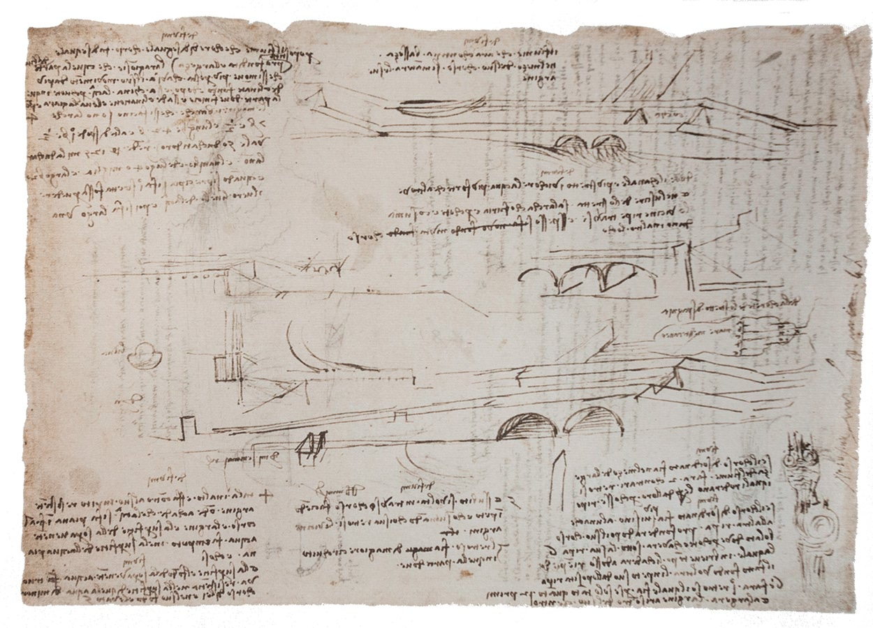 Mapei e Leonardo da Vinci_disegno navigli