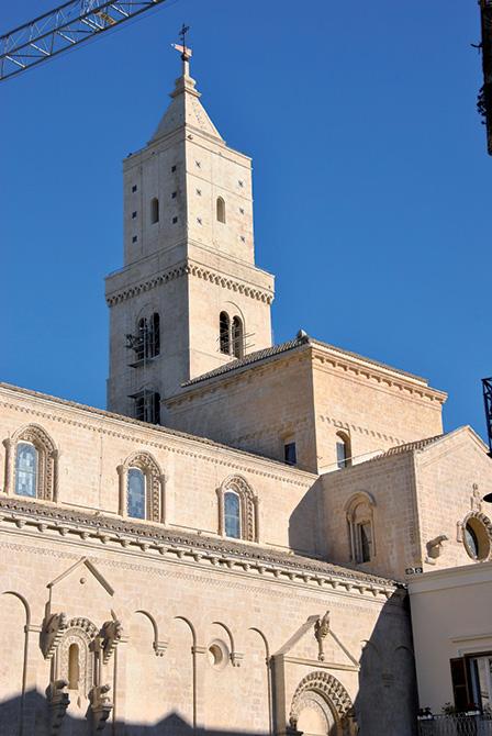 Mapei a Matera Capitale Europea della Cultura - Cattedrale di Santa Maria della Bruna e Campanile