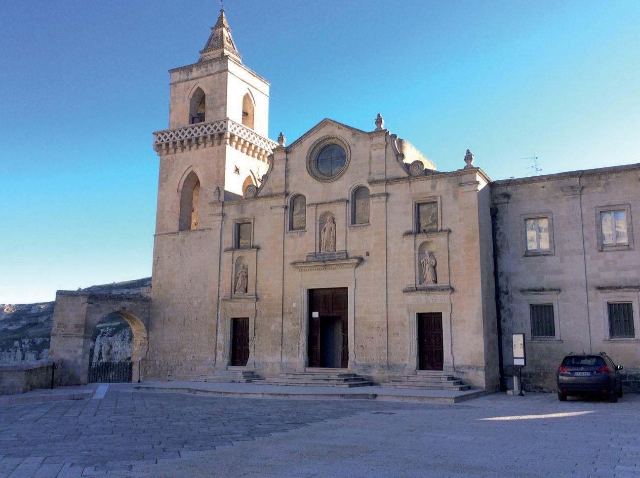 Mapei a Matera Capitale Europea della Cultura - Chiesa di San Pietro Caveoso