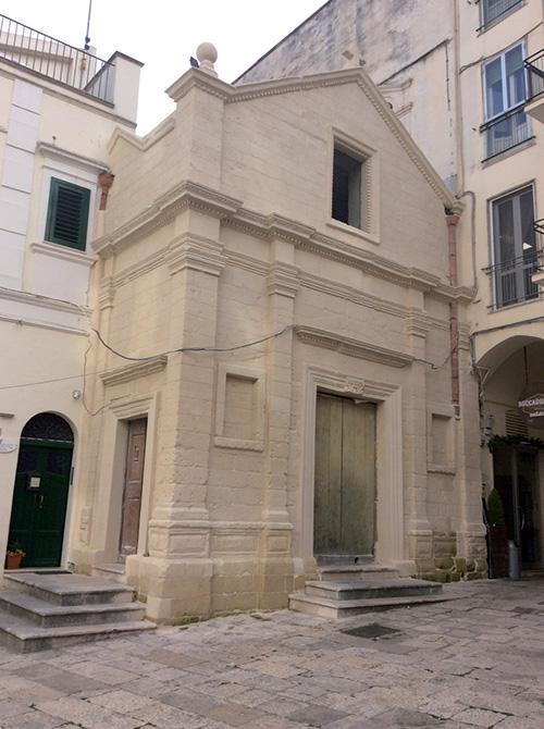 Mapei a Matera Capitale Europea della Cultura - Chiesa S. Eligio