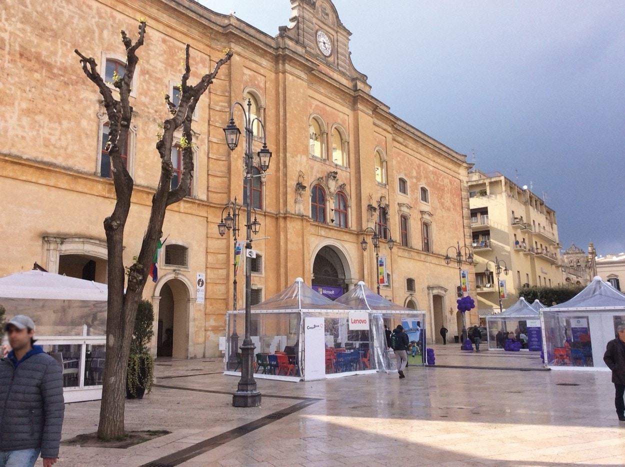 Mapei a Matera Capitale Europea della Cultura - Cineteatro Comunale