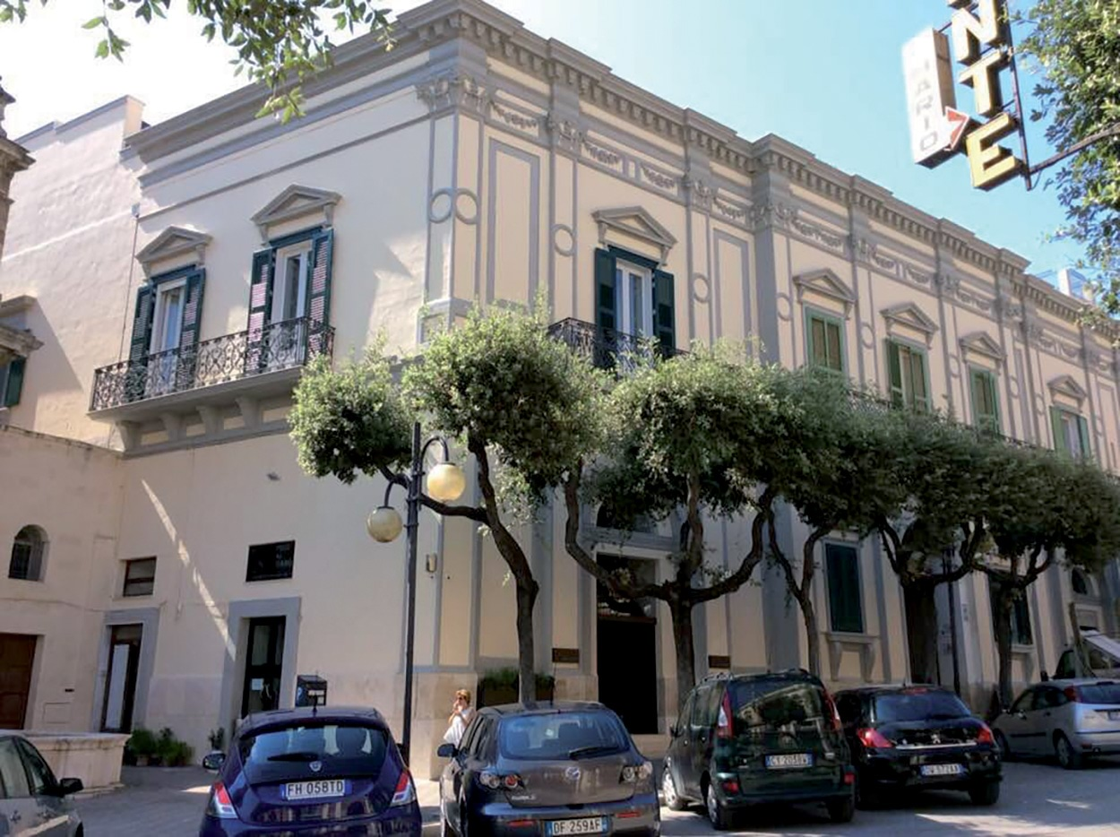 Mapei a Matera Capitale Europea della Cultura - Palazzo Caropreso