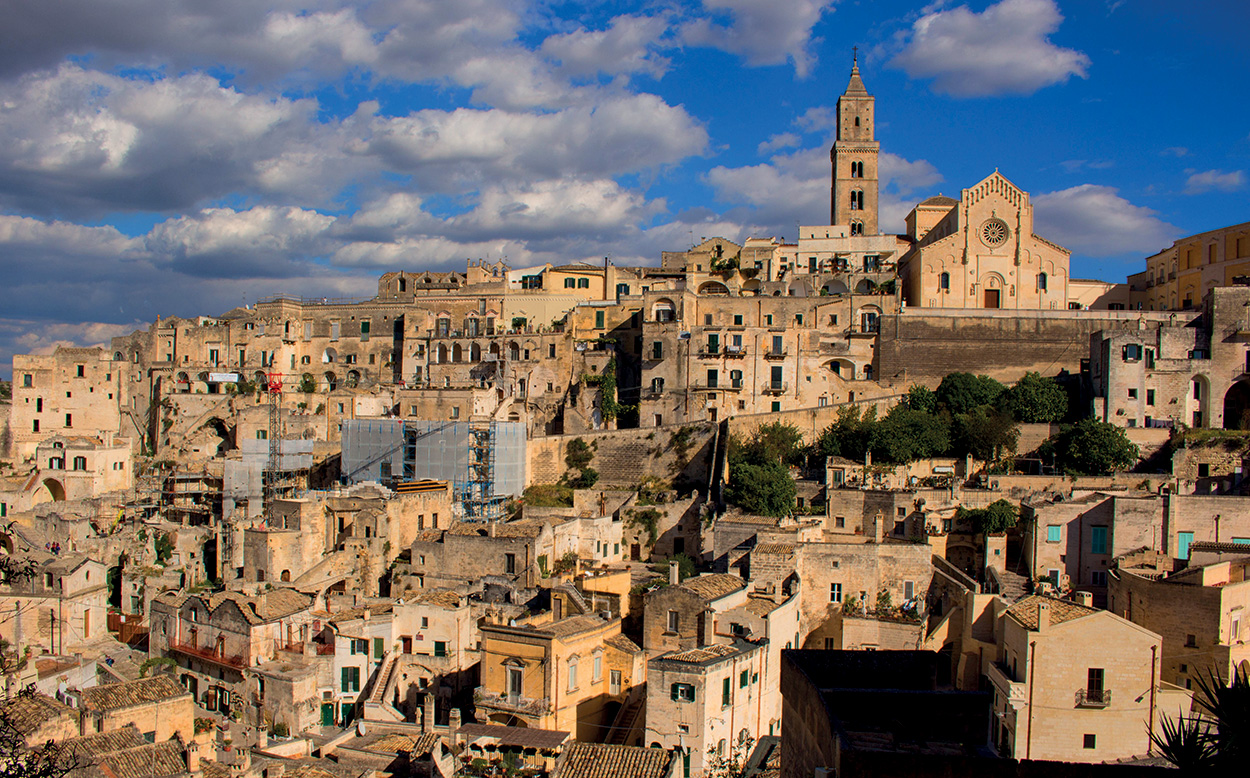 Mapei a Matera Capitale Europea della Cultura - panoramica generale - shutterstock_750675766