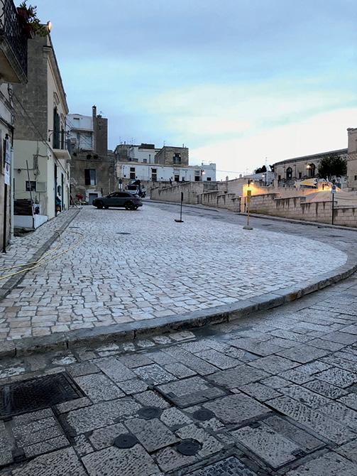 Mapei a Matera Capitale Europea della Cultura - Pavimentazione urbana Via D'Addozio