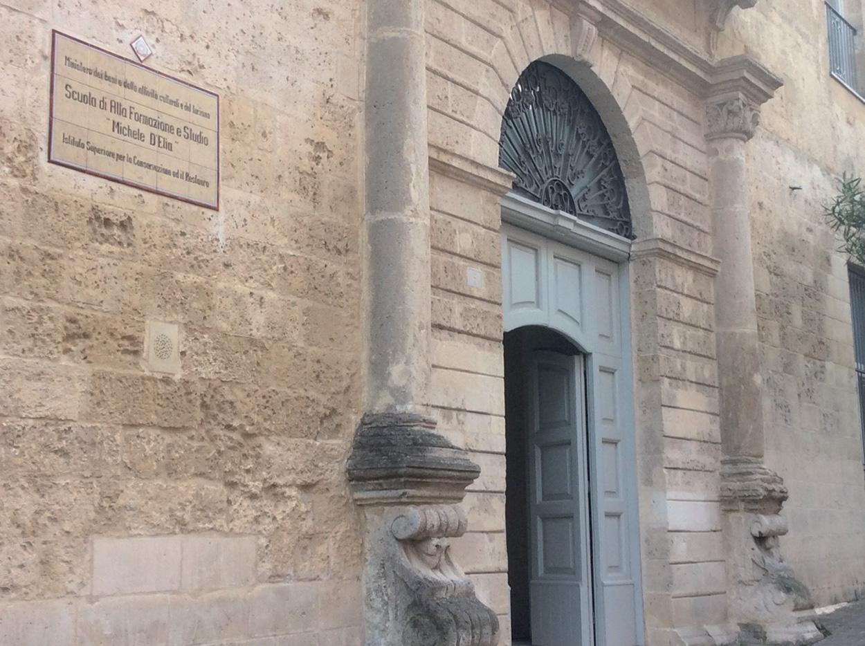 Mapei a Matera Capitale Europea della Cultura - Scuola Alta Formazione Restauro - Ex Convento Santa Lucia