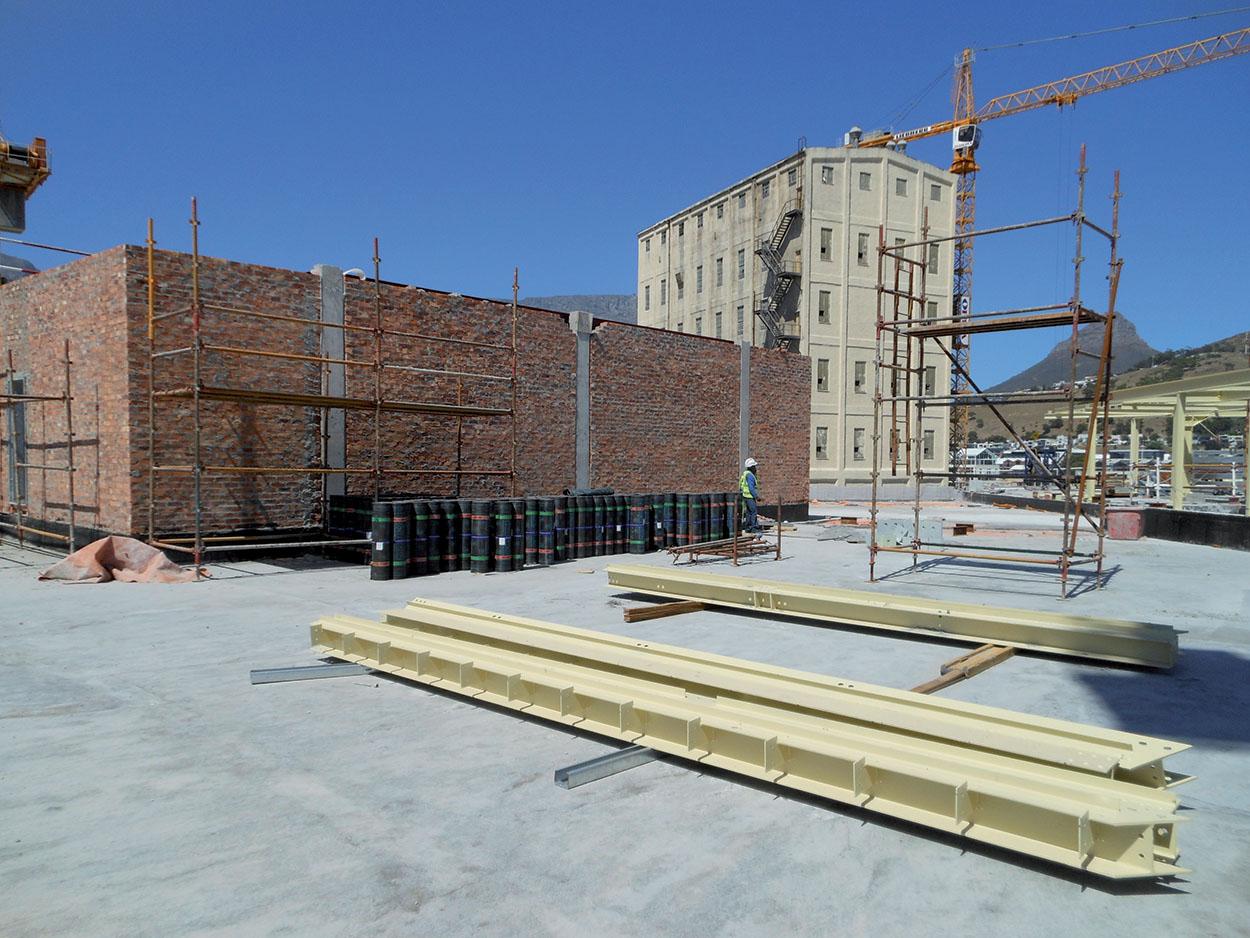 Polyglass Mapei riqualificazione ex opificio Cape Town Silos Città del Capo (3)