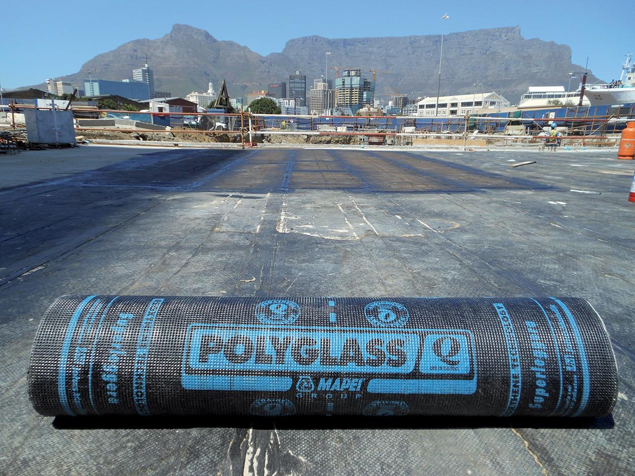 Polyglass Mapei riqualificazione ex opificio Cape Town Silos Città del Capo (5)