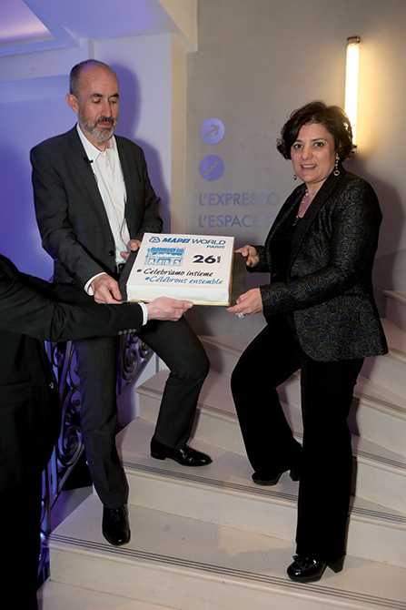 Mapei France - Specification Centre - inaugurazione - Veronica Squinzi2