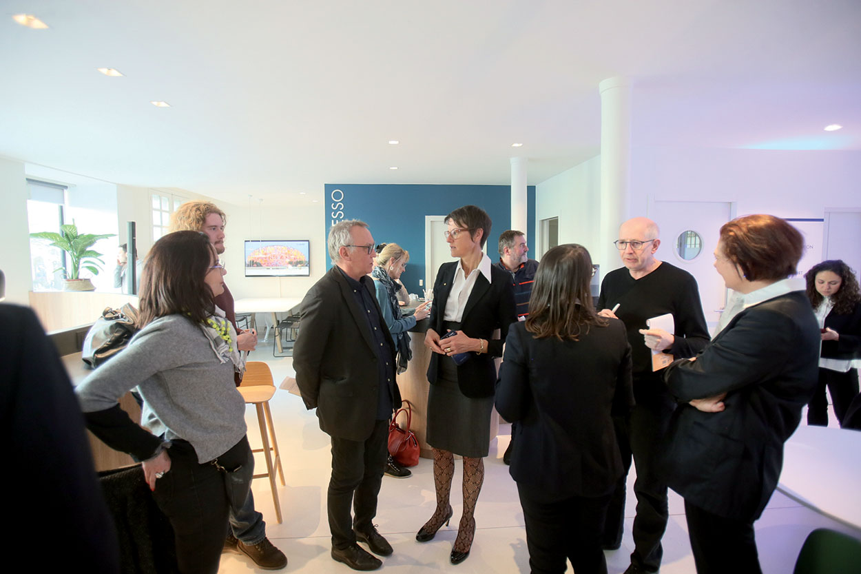 Mapei France - Specification Centre - inaugurazione - Veronica Squinzi3