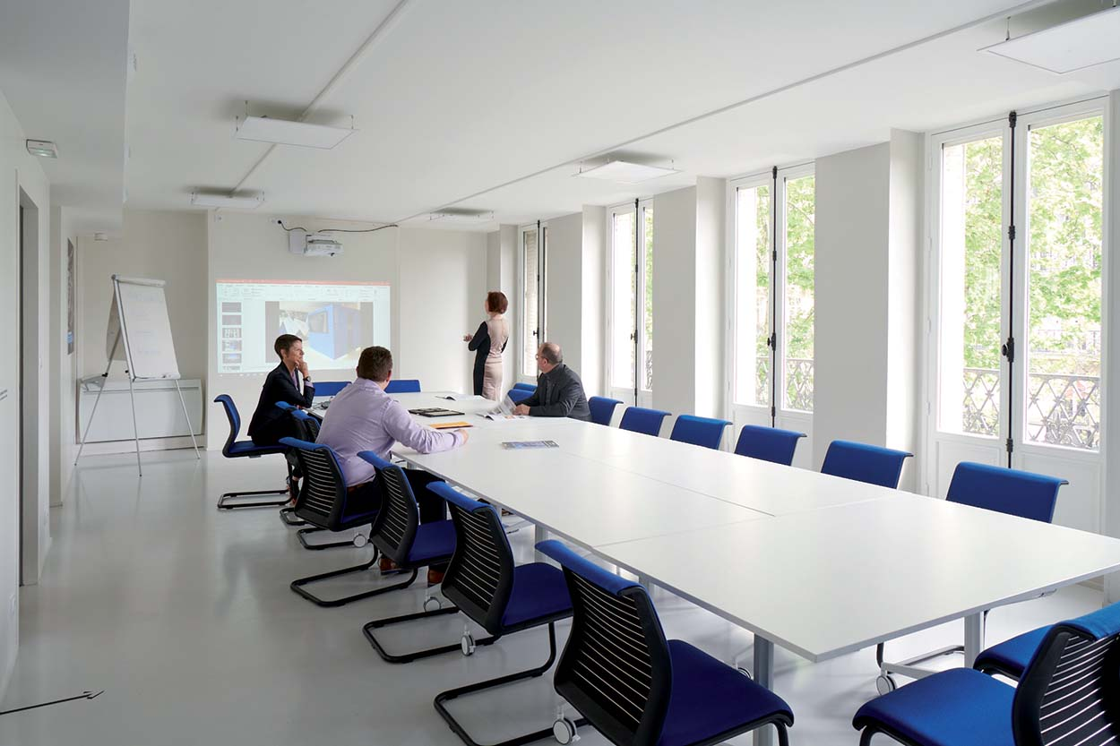 Mapei France Specification Centre - sala meeting