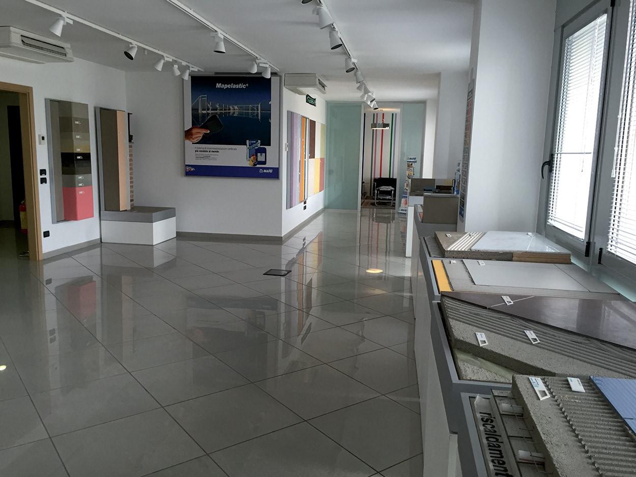 dove si trova Mapei - Lecce - Show Room - Specification Centre - Seminar Room
