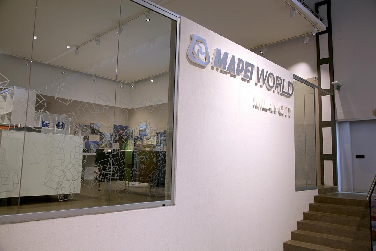 dove si trova Mapei - Milano - Show Room - Specification Centre - Seminar Room