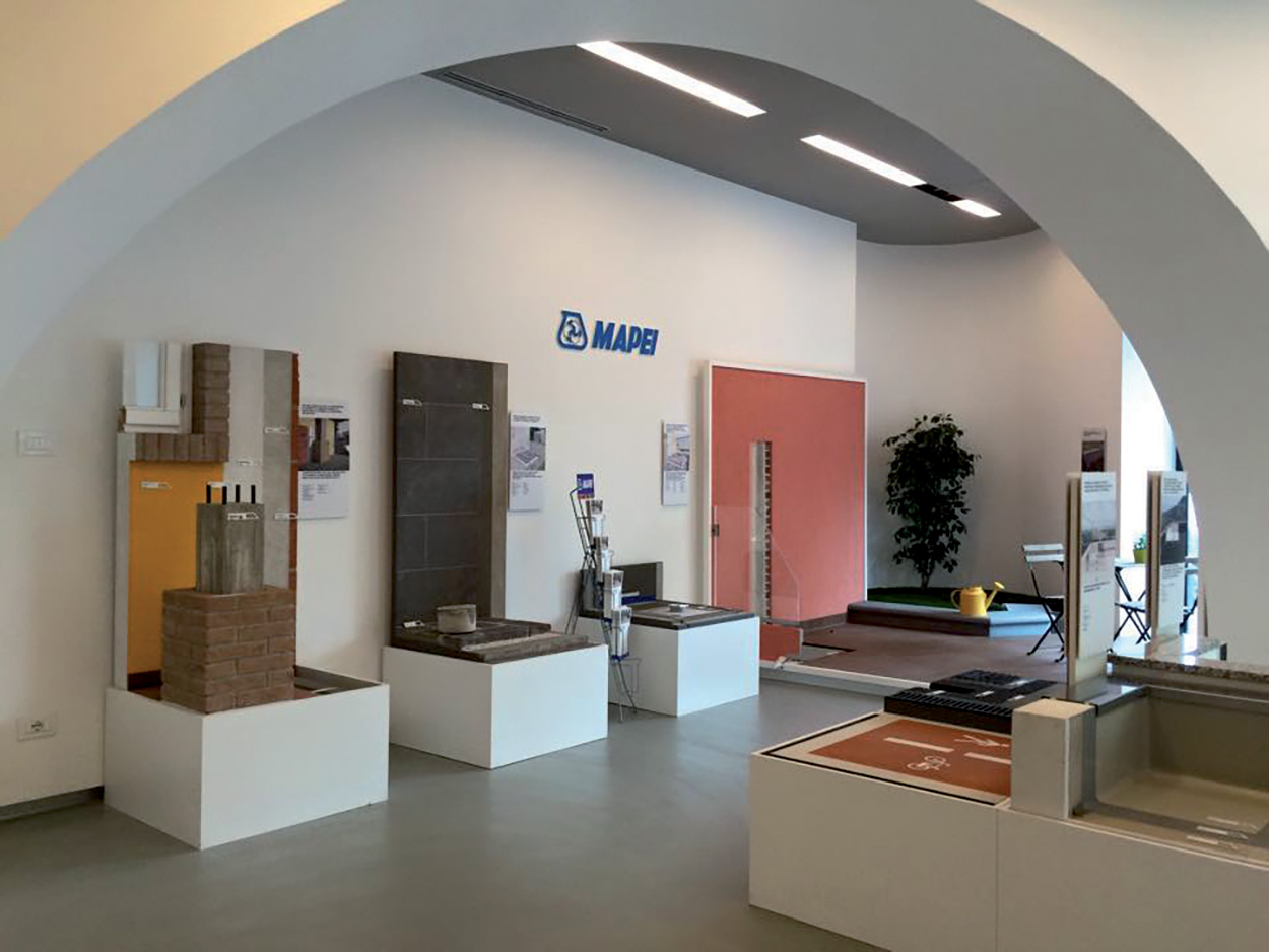 dove si trova Mapei - Napoli - Show Room - Specification Centre - Seminar Room