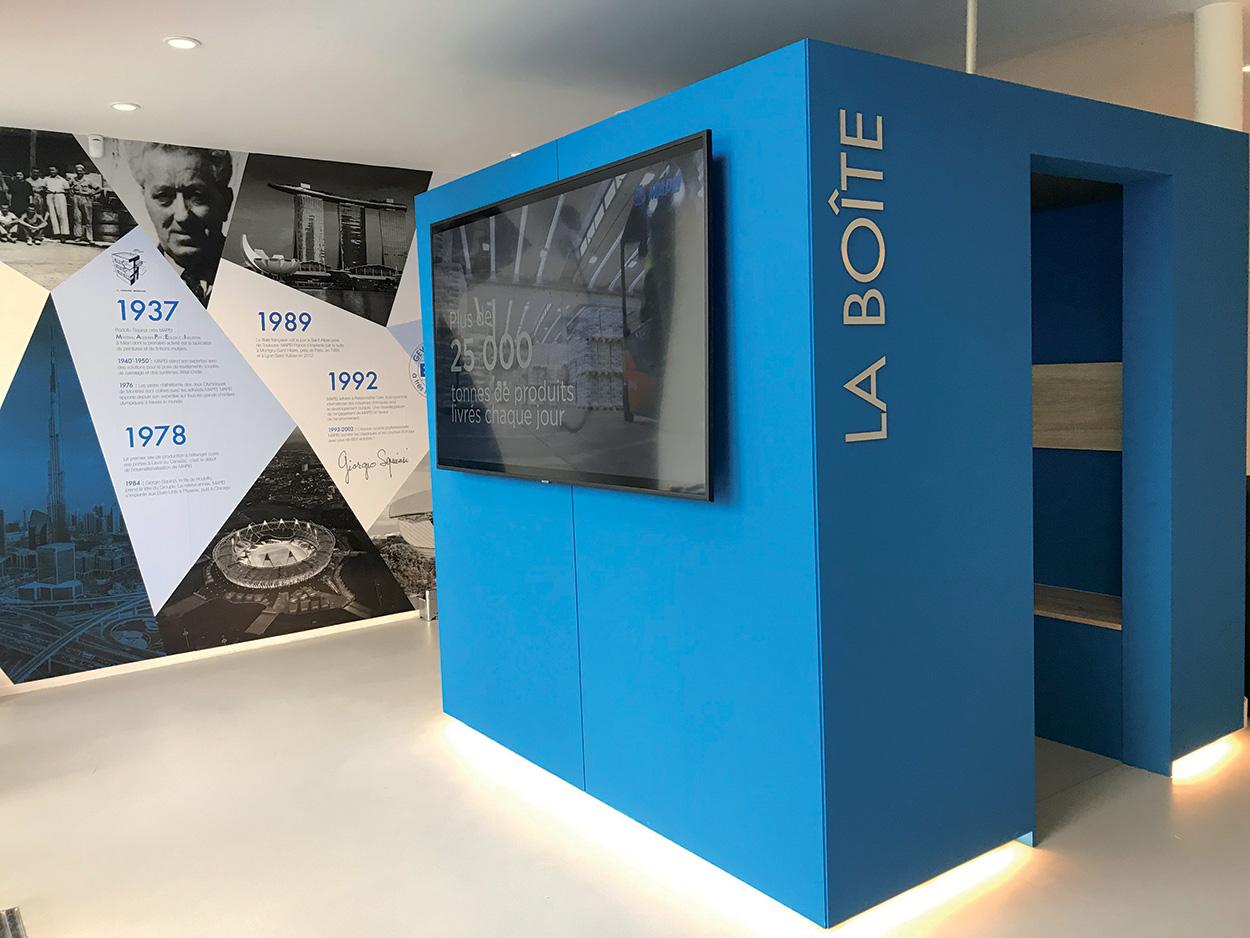dove si trova Mapei - Parigi - Show Room - Specification Centre - Seminar Room (2)