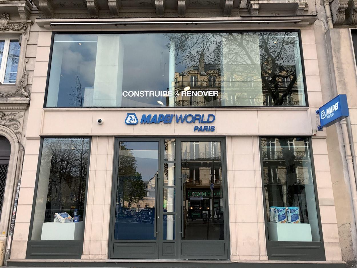 dove si trova Mapei - Parigi - Show Room - Specification Centre - Seminar Room (3)