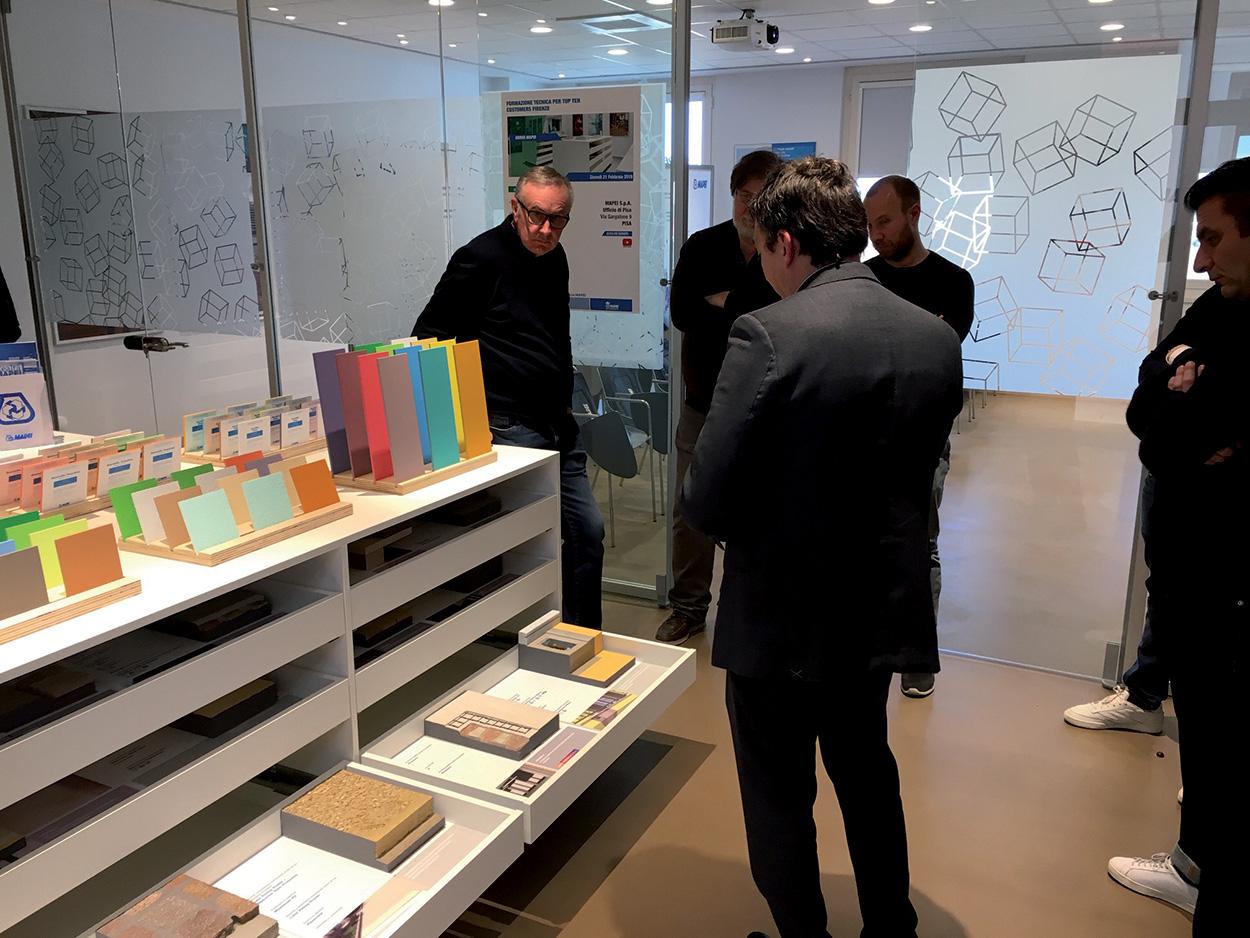 dove si trova Mapei - Pisa - Show Room - Specification Centre - Seminar Room