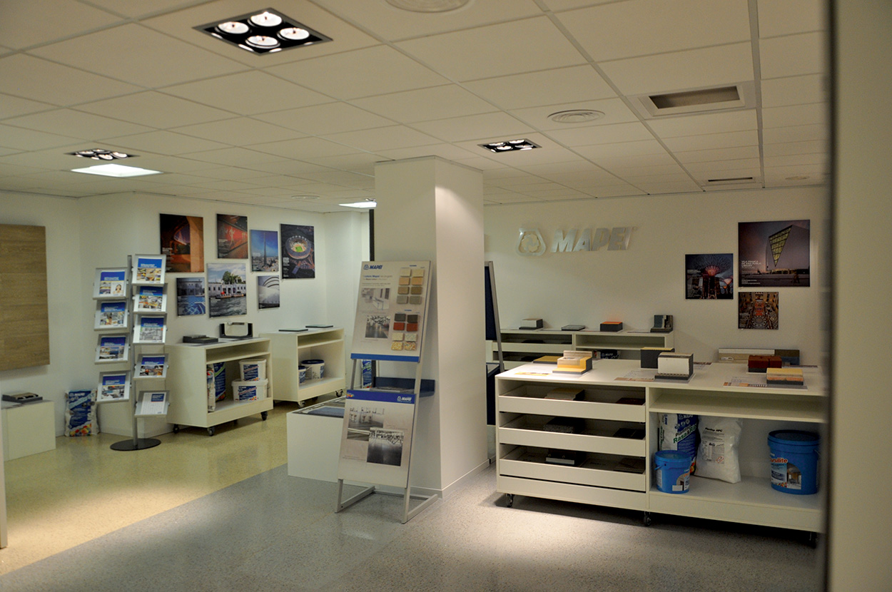 dove si trova Mapei - Roma - Show Room - Specification Centre - Seminar Room