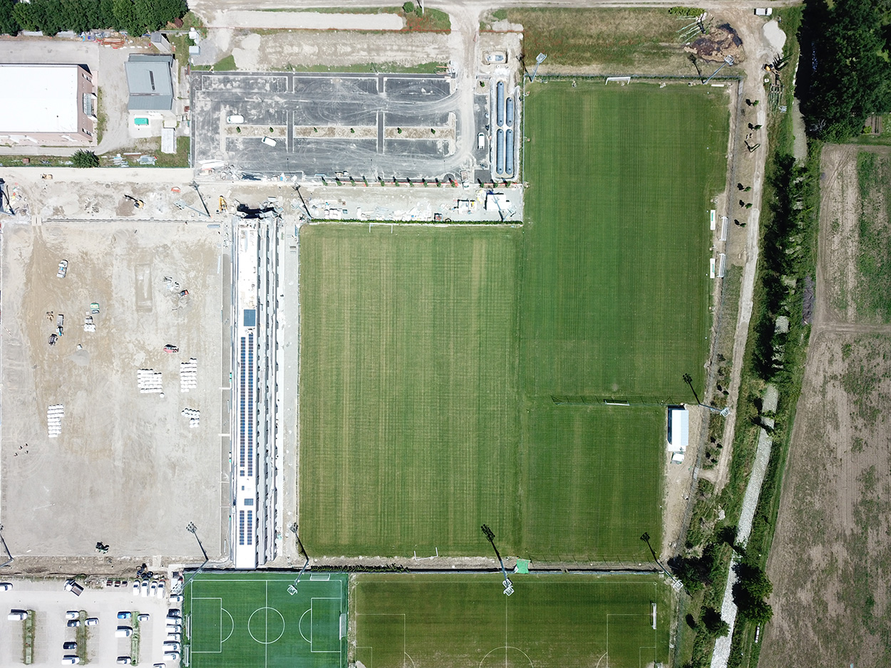 The Mapei Football Center from above.