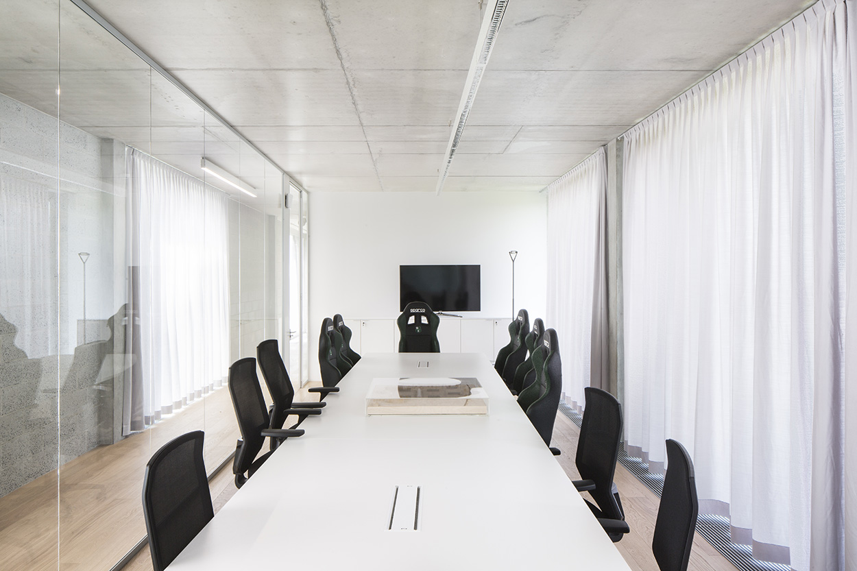 The meeting room at the Mapei Football Center ©Filippo Romano.