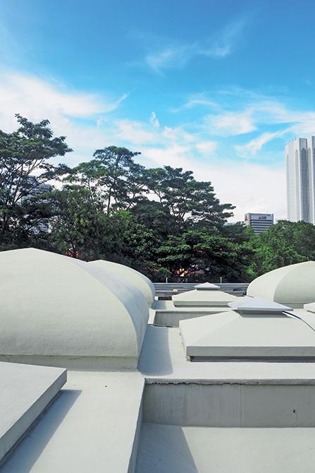 PURTOP 1000 - Moschea nazionale Masjid Negara_le soluzioni Mapei per le coperture - impermeabilizzazioni - mosaico (4)