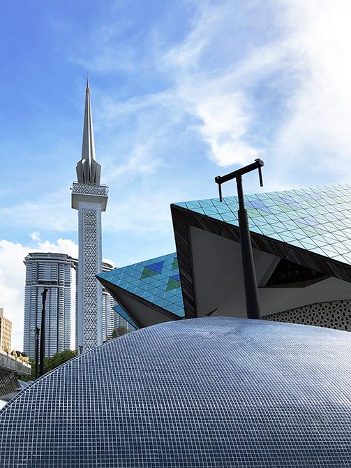 Moschea nazionale Masjid Negara_le soluzioni Mapei per le coperture - posa di mosaico (3)