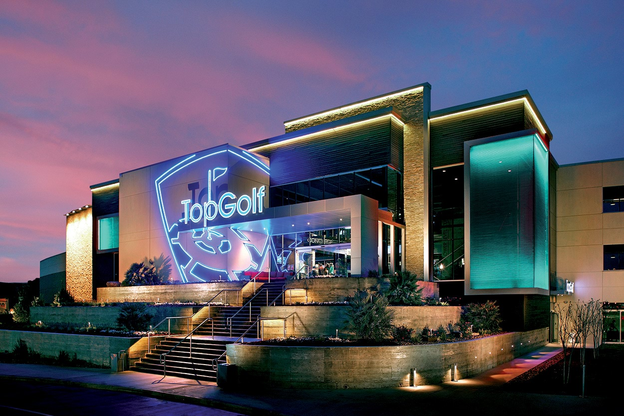 TopGolf Katy-Houston-Texas_Mapei-Mapesoil100_edificio-entrata