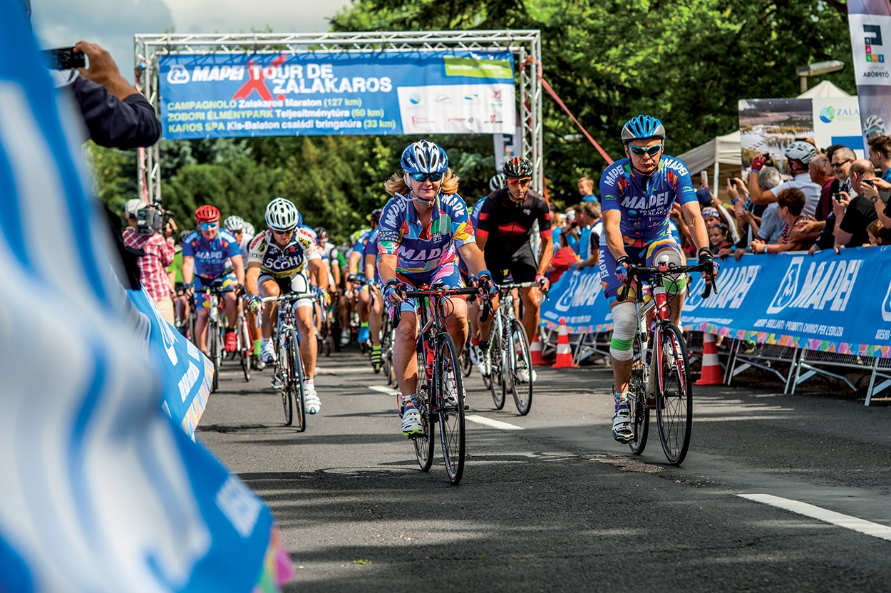 The Mapei Tour of Zalakaros, held over the course of the weekend from the 21st to the 23rd of June, provided the chance for Mapei Kft to offer two days of sport and fun for all their clients and friends.