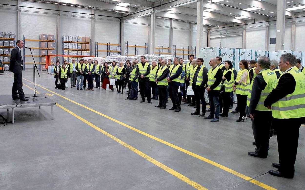 Lo stabilimento di Sóskút, recentemente ampliato, è stato visitato da clienti, autorità e partner di lavoro.