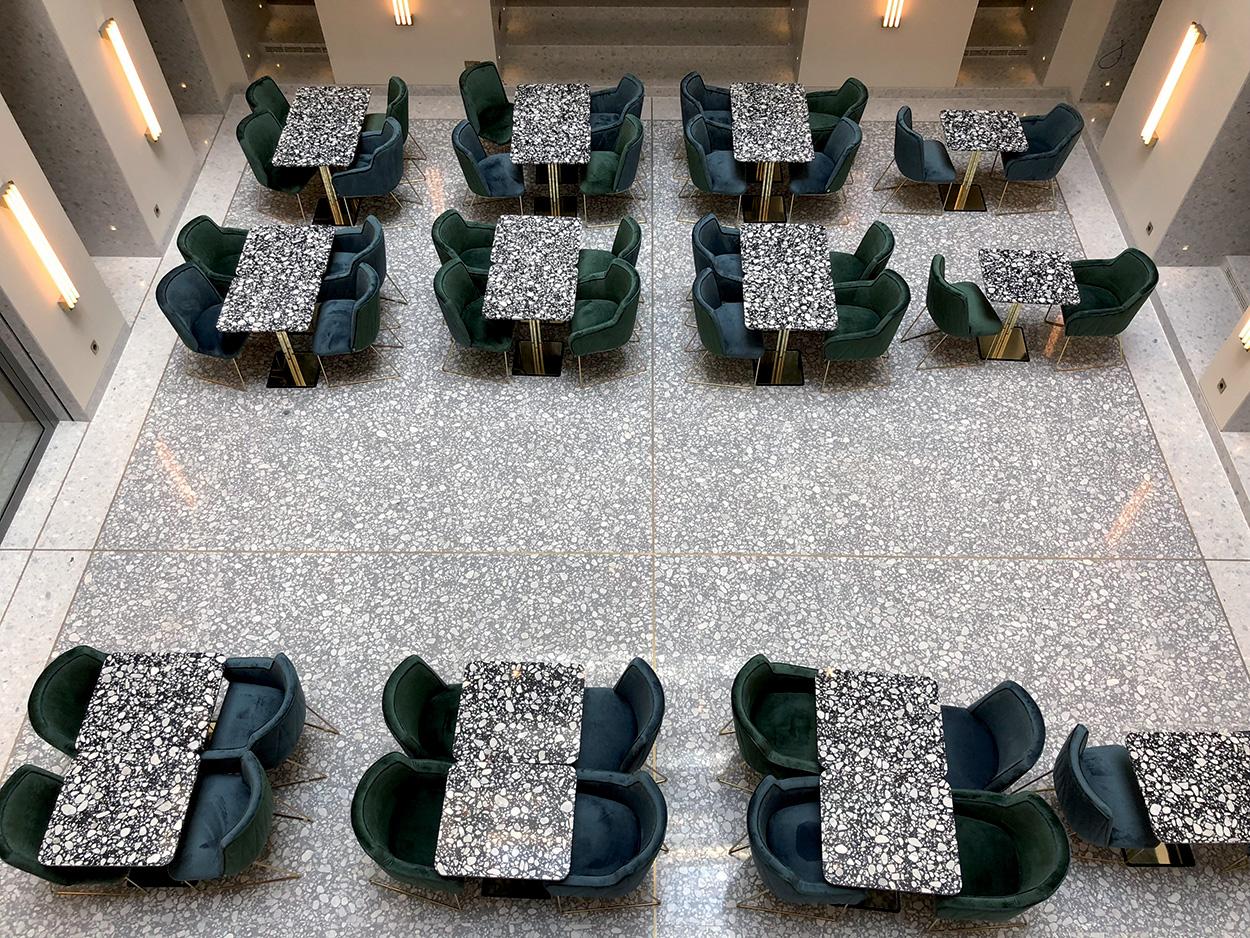Soluzioni Mapei per il Ristorante e Bar Société, Budapest