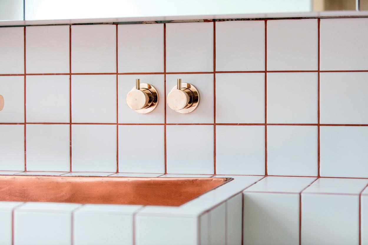 Prodotti Mapei in una residenza privata di Londra - dettaglio