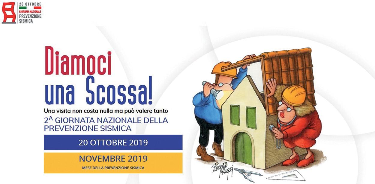 Diamoci-una-Scossa-novembre-2019_Mapei Main Sponsor - Prevenzione Sismica