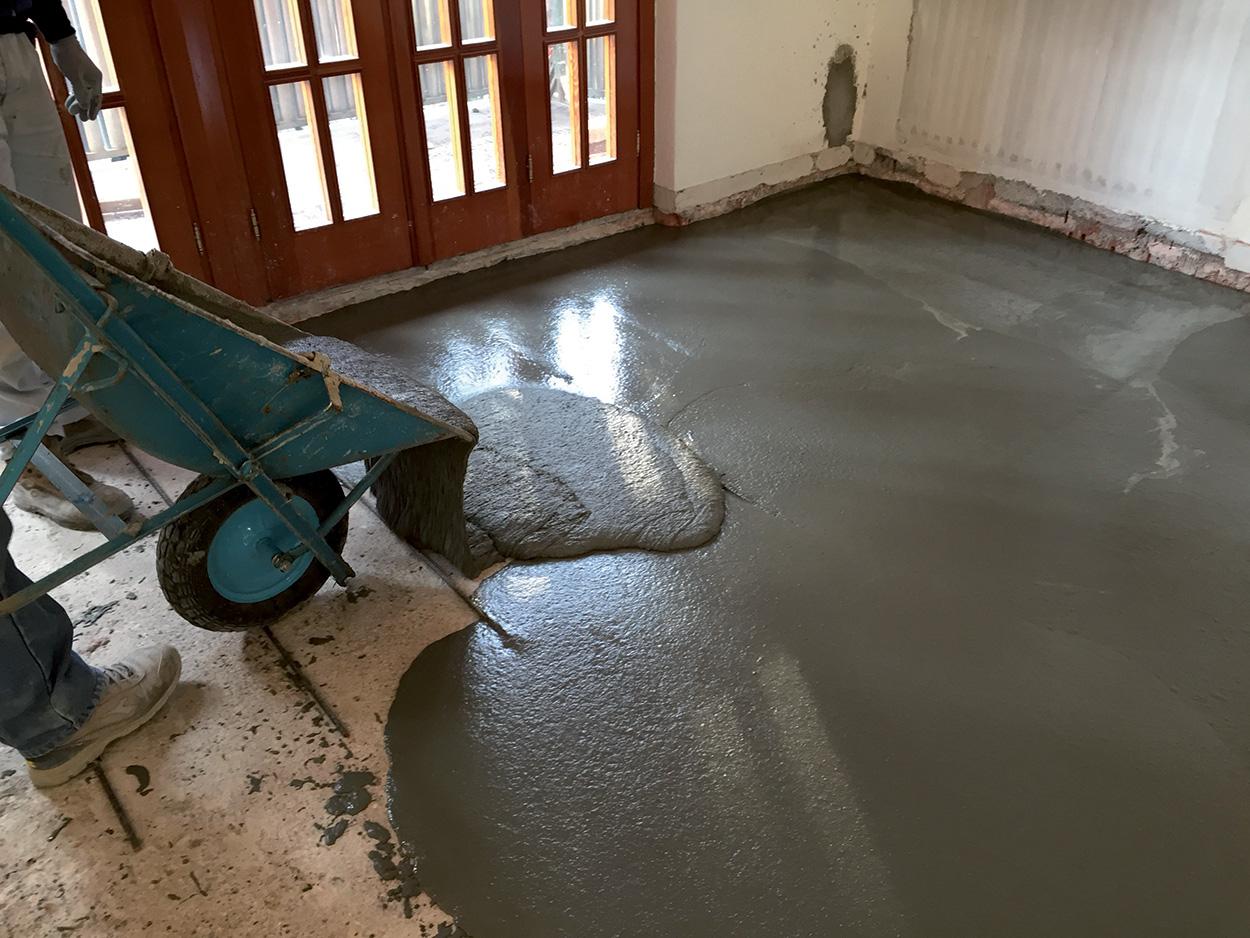 Planitop HPC Floor Mapei - Soluzioni Mapei per il miglioramento e l'adeguamento sismico