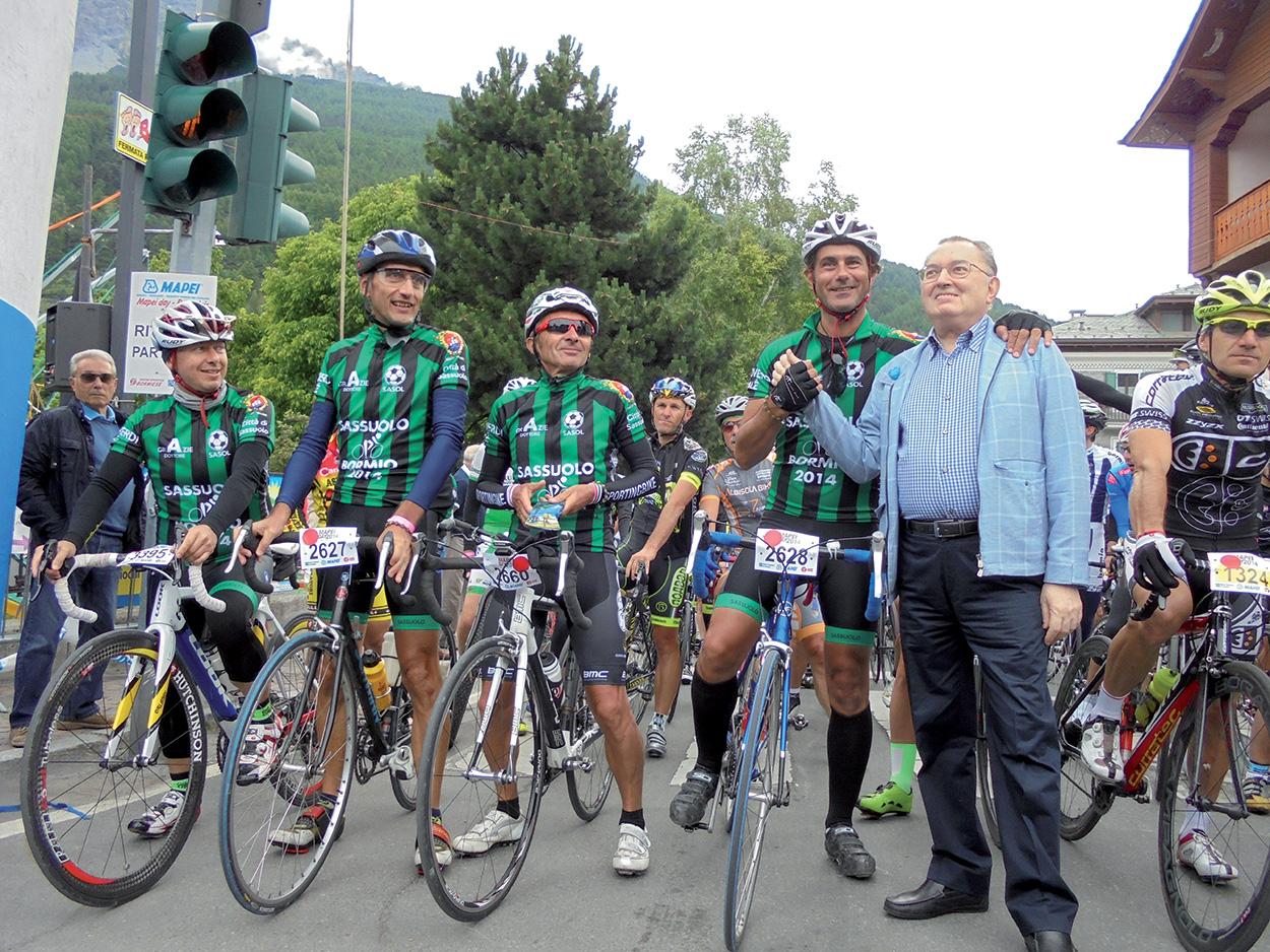 Giorgio Squinzi Mapei - la passione per il ciclismojpg