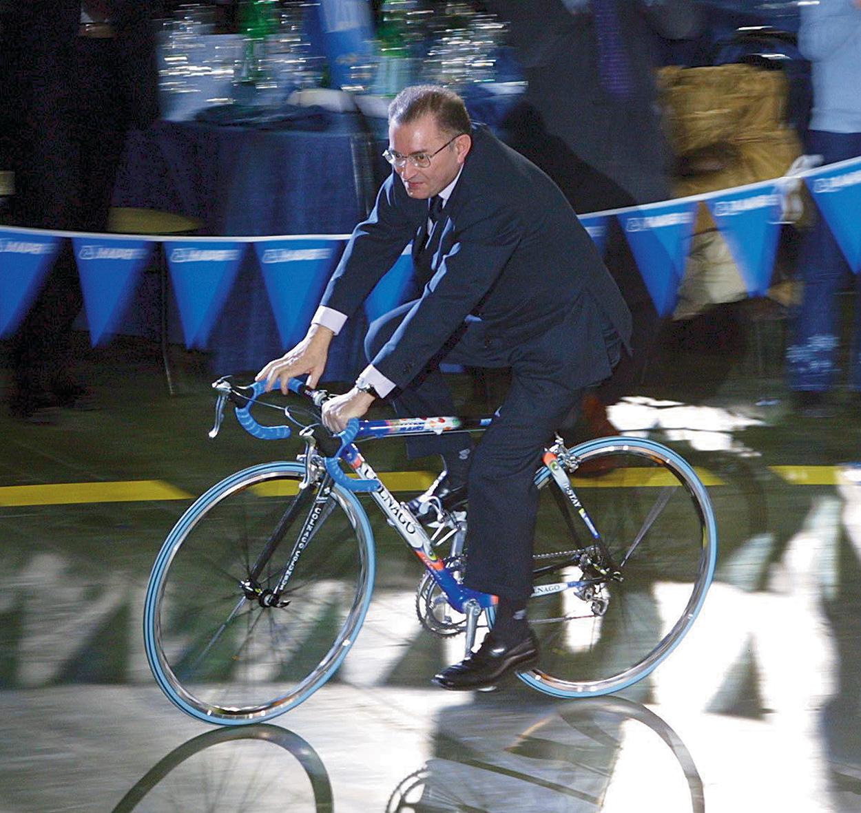 Giorgio Squinzi Mapei - mai smettere di pedalare (1)