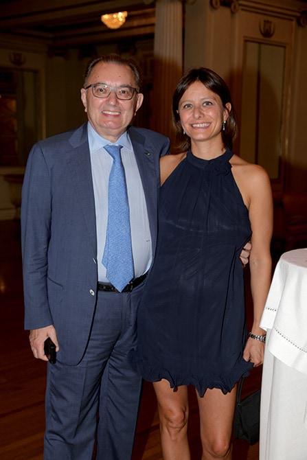 Giorgio Squinzi Mapei e la nipote Simona Giorgetta