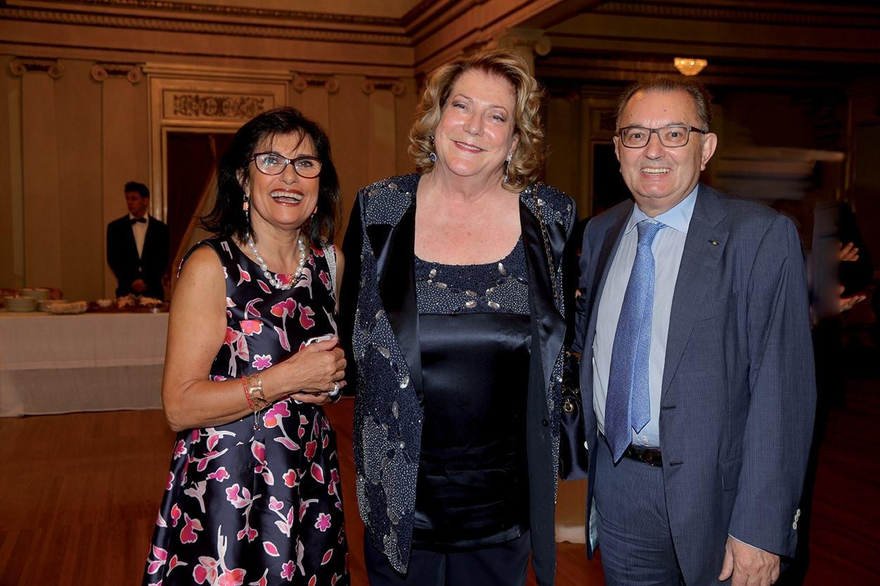 Giorgio Squinzi - Mapei - Adriana Spazzoli - Diana Bracco