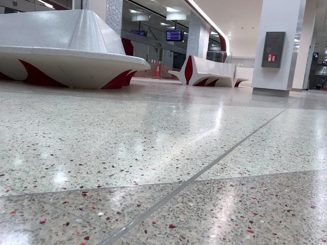 Mapei partecipa alla costruzione della Metro Red Line a Doha in Qatar (3)