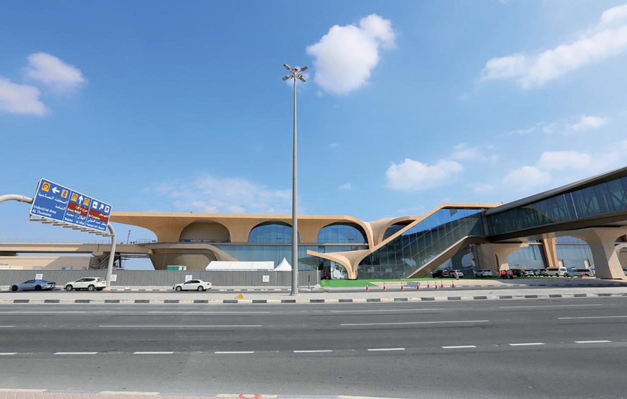 Mapei partecipa alla costruzione della Metro Red Line a Doha in Qatar (4)