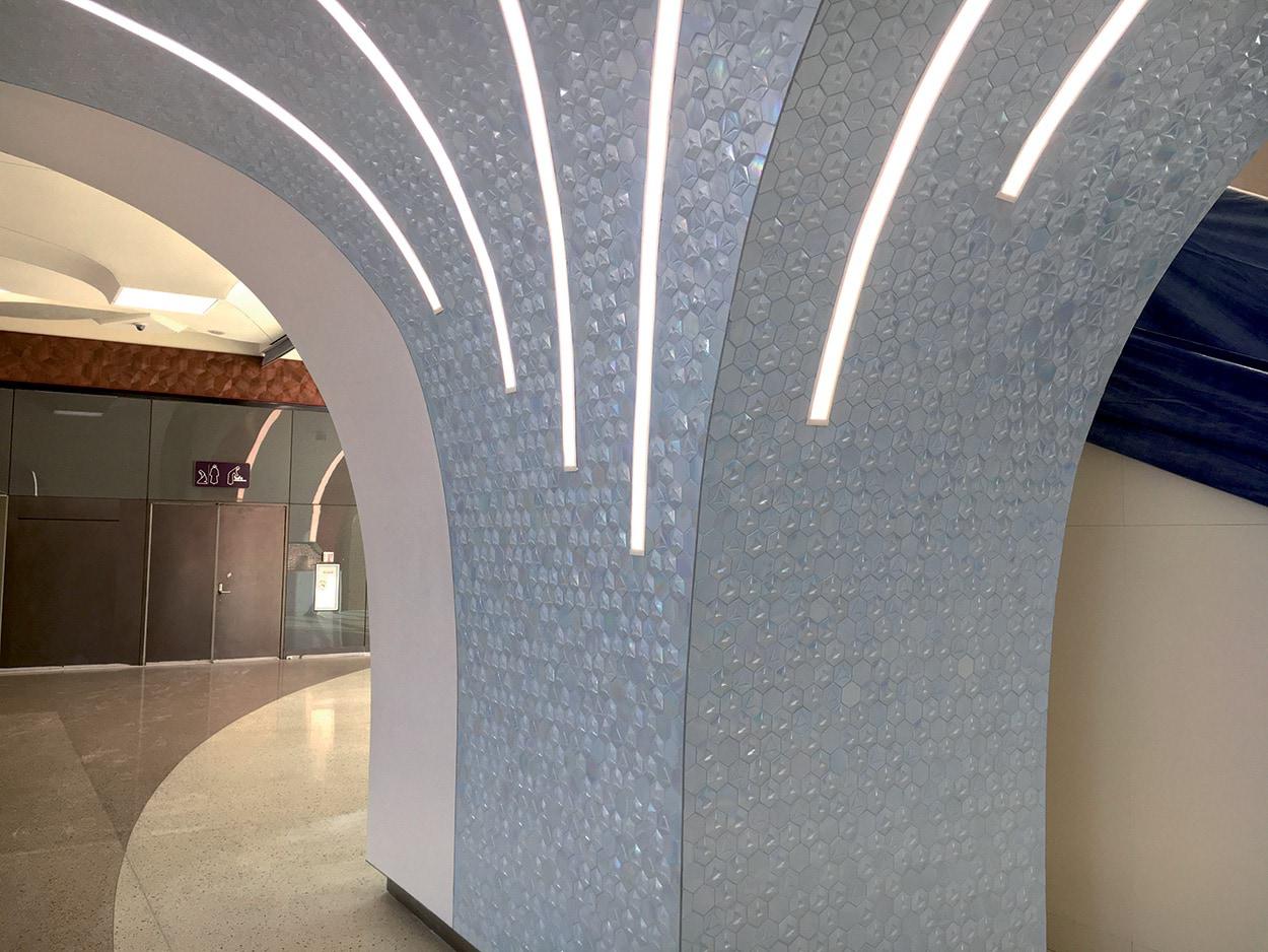 Mapei partecipa alla costruzione della Metro Red Line a Doha in Qatar (7)