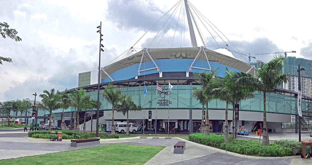 Progetti Mapei in Malesia_National Aquatic Centre Kuala Lumpur