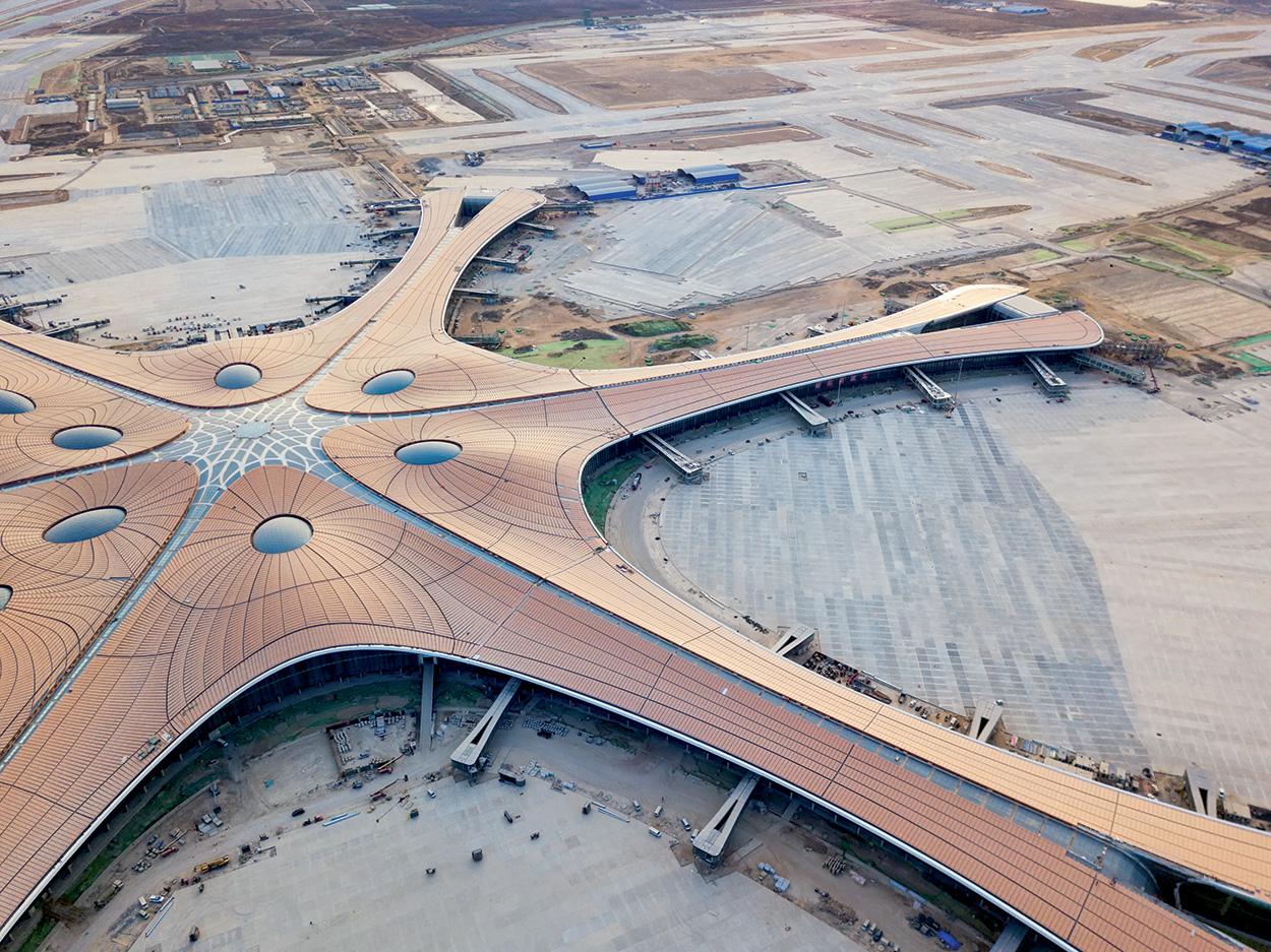 foto 1_shutterstock_1340694464_Pavimentazioni Mapei nell'aeroporto Daxing International Airport di Pechino