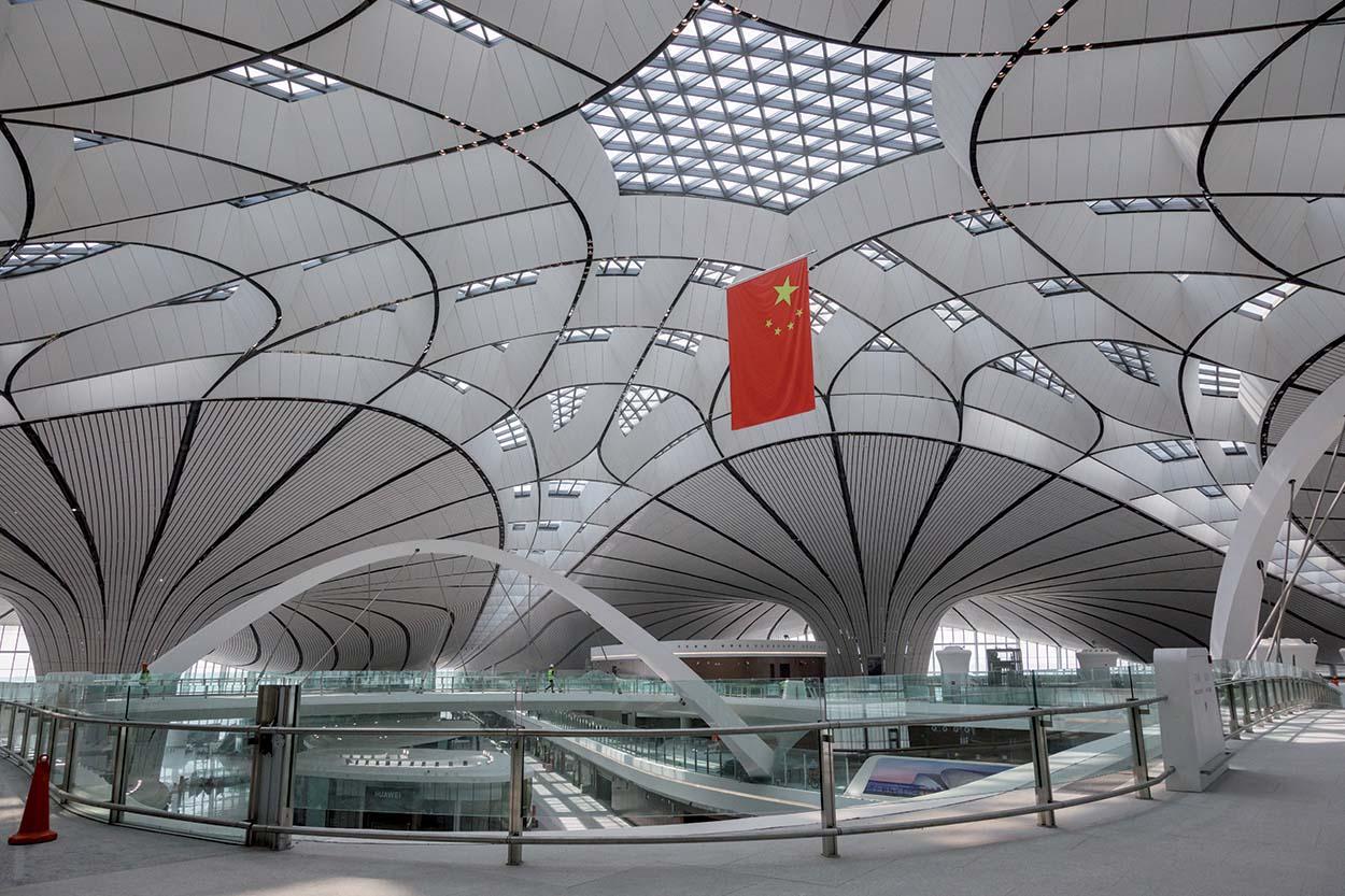 Foto 2_shutterstock_1514662772_Pavimentazioni Mapei nell'aeroporto Daxing International Airport di Pechino
