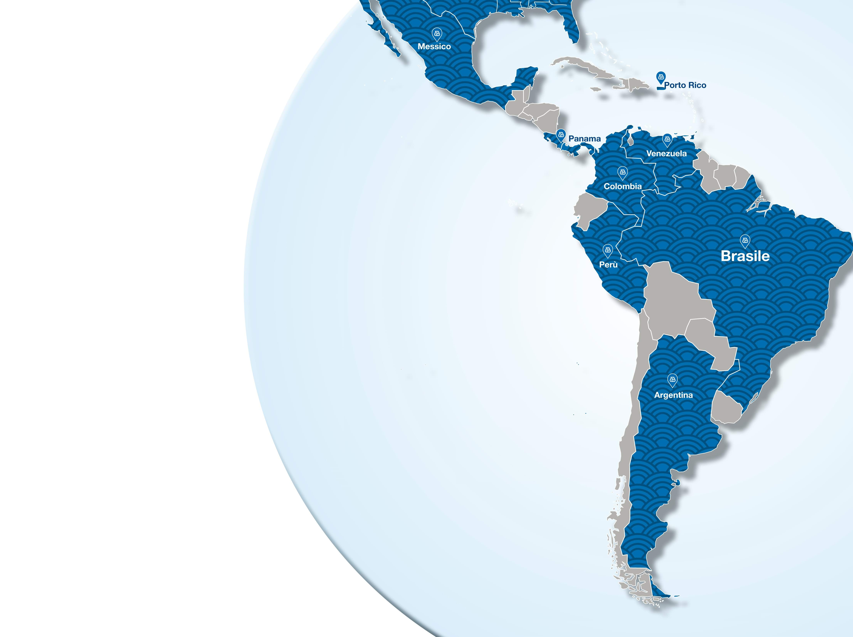 Le consociate Mapei nel LATAM - Latino America