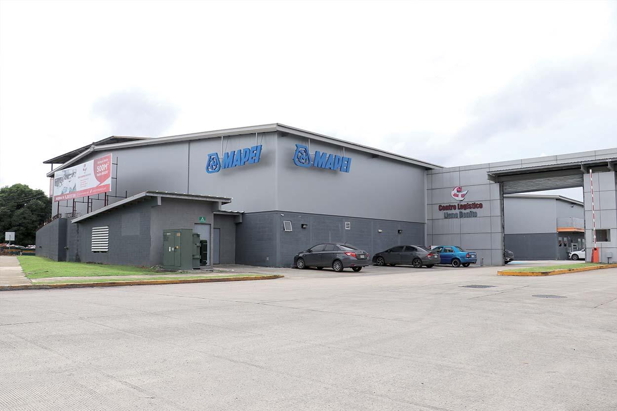 Panama_stabilimento Mapei - La sede e lo stabilimento di Mapei Construction Chemicals Panama S.A. nella città di Panama.