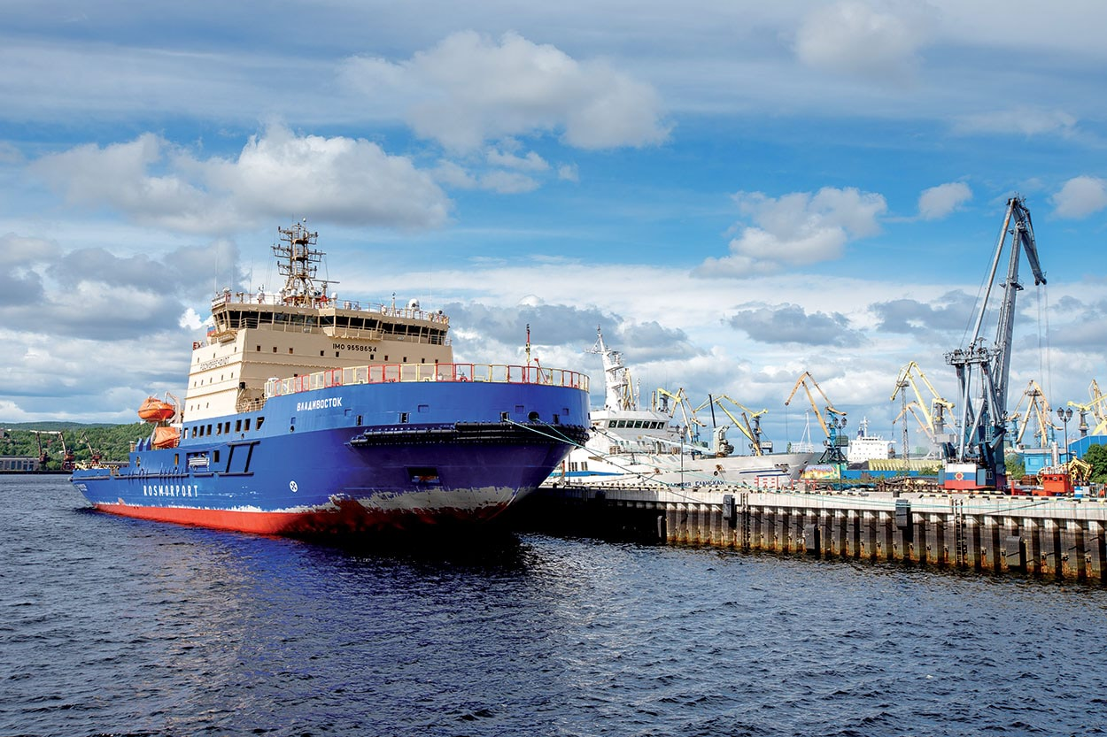 Mapei Marine_Rompighiaccio Murmansk_icebreaker ship_shutterstock_1197735640