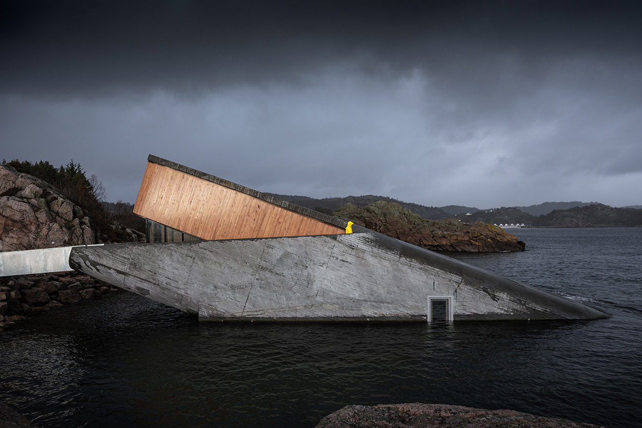 Mapei - Norway's Restaurant Under - Ristorante Under Norvegia Studio Snohetta_Spangereid (1)