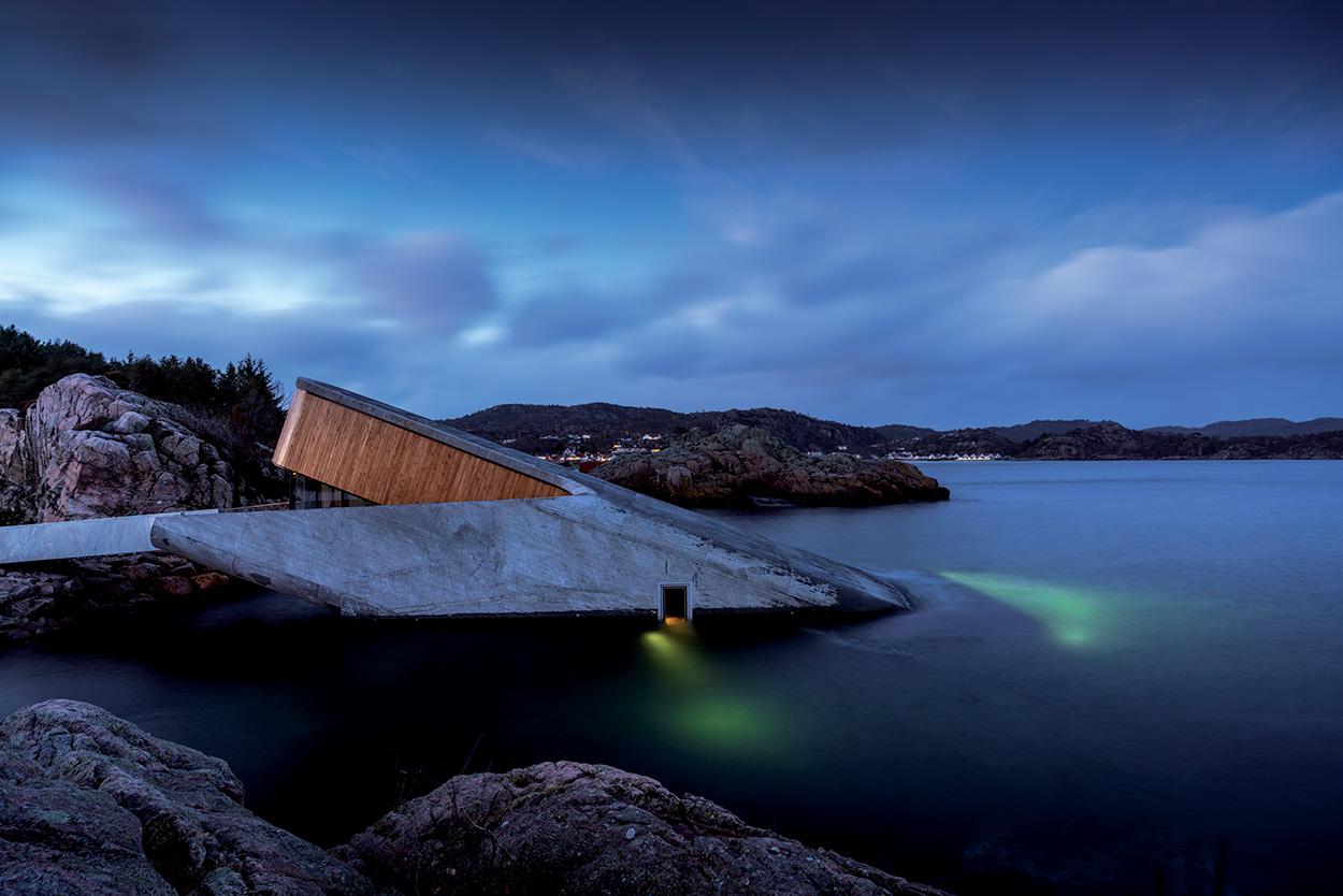 Mapei - Norway's Restaurant Under - Ristorante Under Norvegia Studio Snohetta_Spangereid (9)