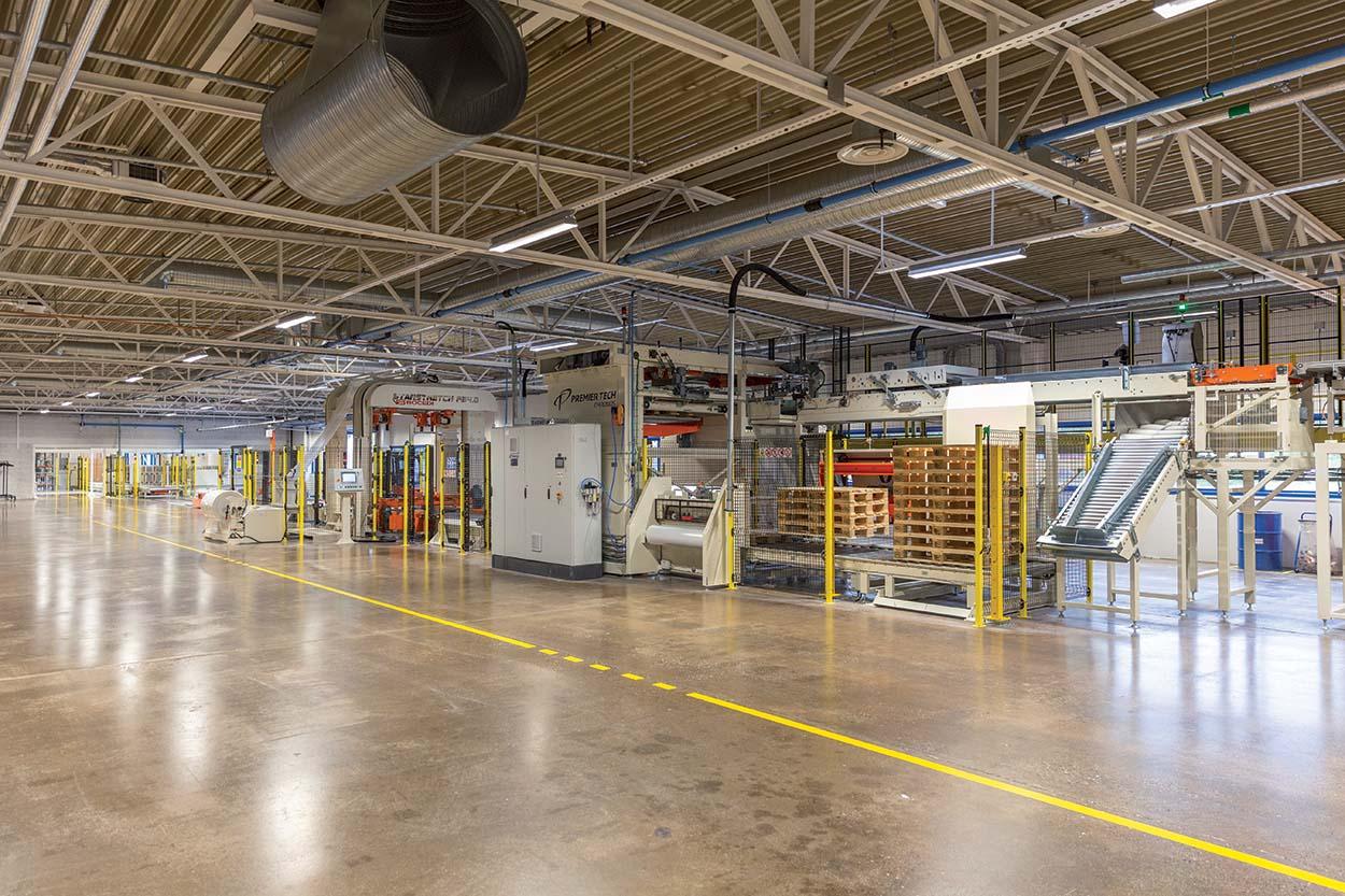 Mapei amplia lo stabilimento produttivo in Norvegia_deposito