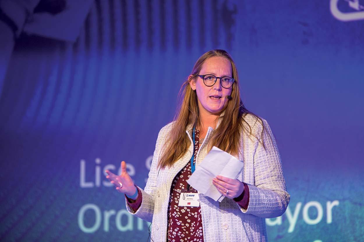 Mapei amplia lo stabilimento produttivo in Norvegia_il discorso del sindaco Lise Selnes